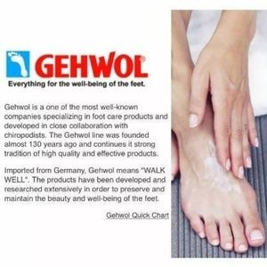 Gehwol Makeup - New Gehwol Fusskraft Mint Cooling Balm 2.6 oz/75ml